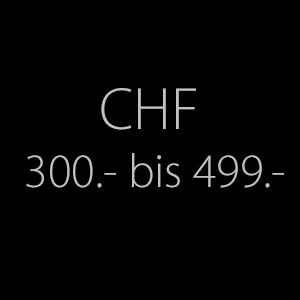 300.- bis 499.-