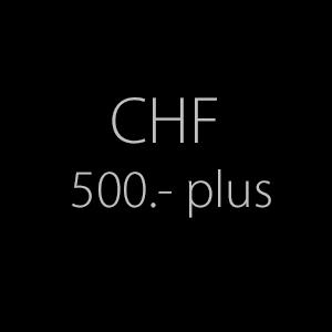 500.- plus